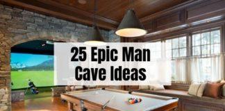 25 Man Cave Ideas