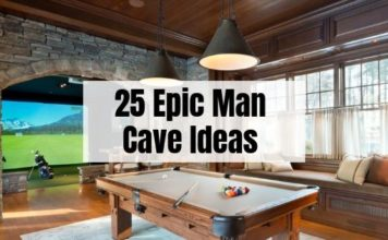 25 Man Cave Ideas