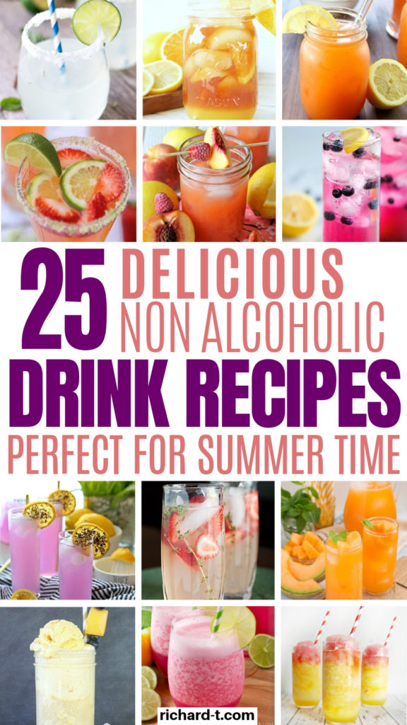 25 Non alcoholic drink recipes