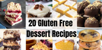 20 Gluten Free Dessert Recipes