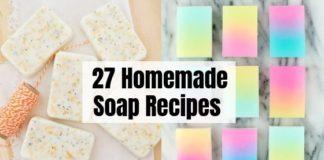 27 Homemade Soap Recipes