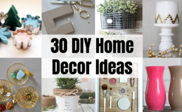 30 DIY Home Decor Ideas from Dollar Store