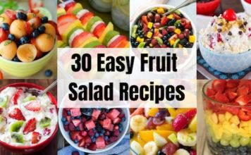 30 Easy & Tasty Fruit Salad Recipes