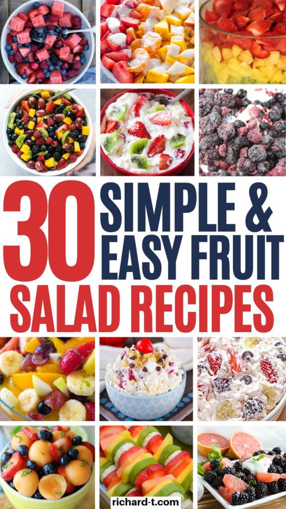 30 Fruit Salad Recipes