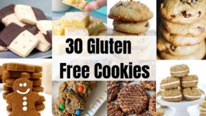 30 Gluten free cookies
