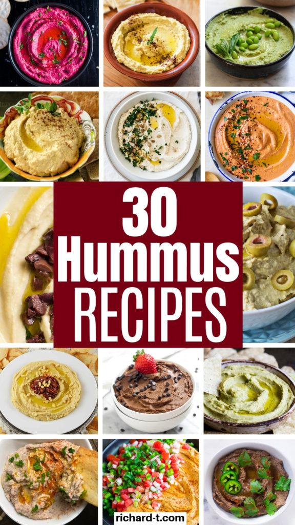 30 Homemade Hummus Recipes