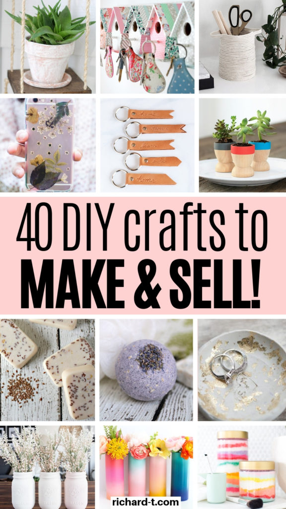 40 Diy Crafts To Make Sell For Money