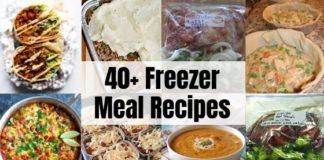 40+ Freezer Meals