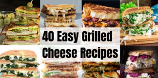 40 Grilled Cheese Recipes