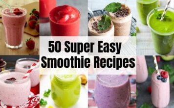 50 Healthy Smoothie Recipes