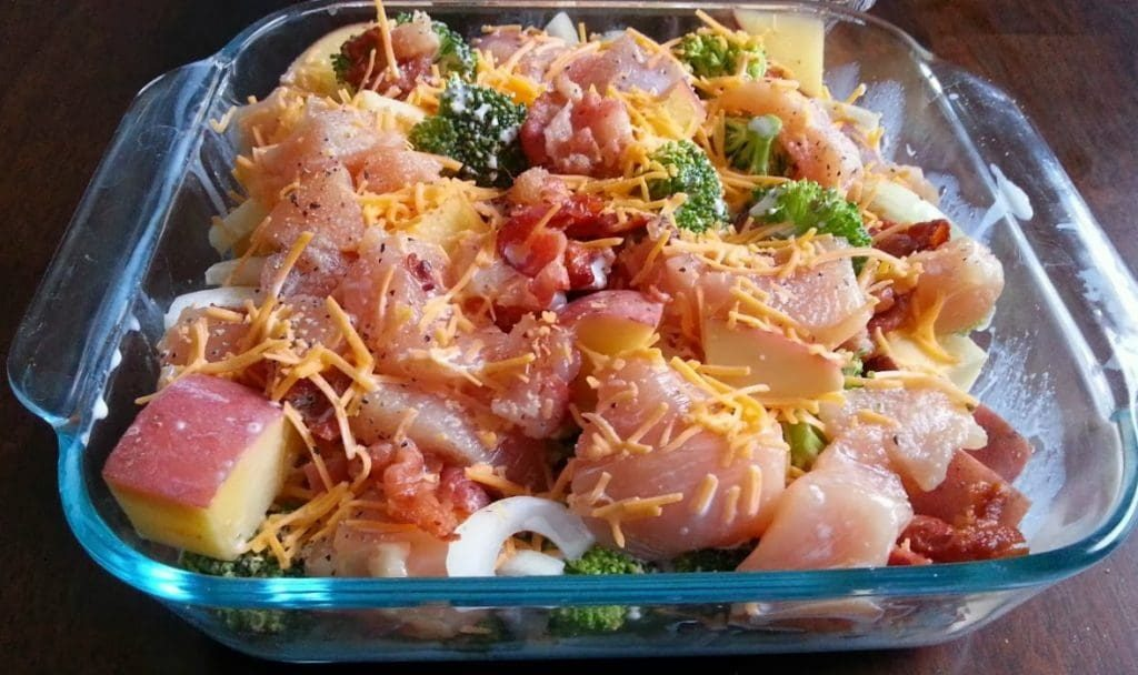 Chicken freezer meal 2