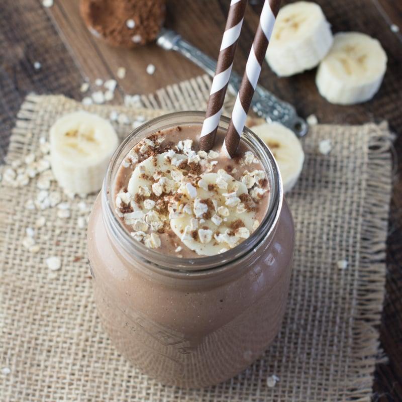 Coconut choc smoothie