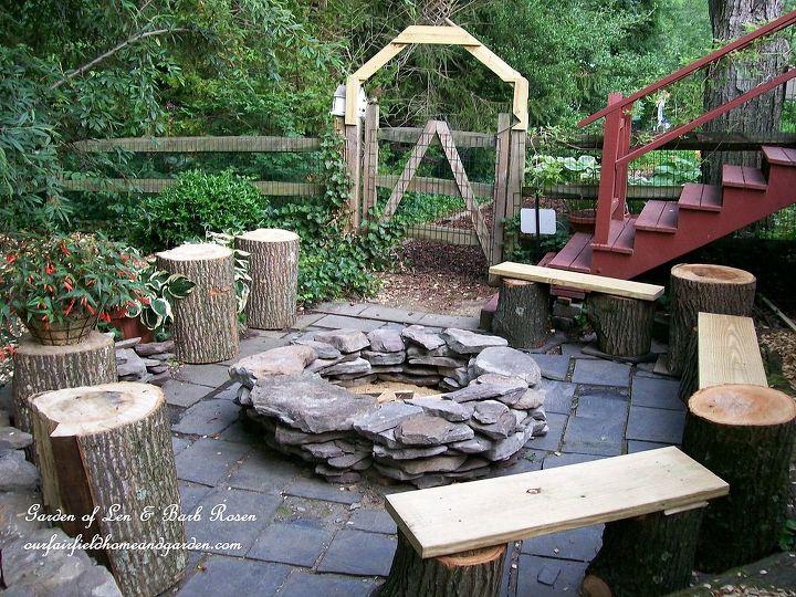 DIY Fire Pit 21