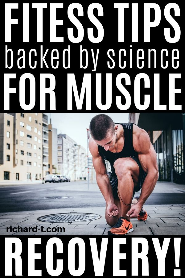 Fitness tips for muscle recovery