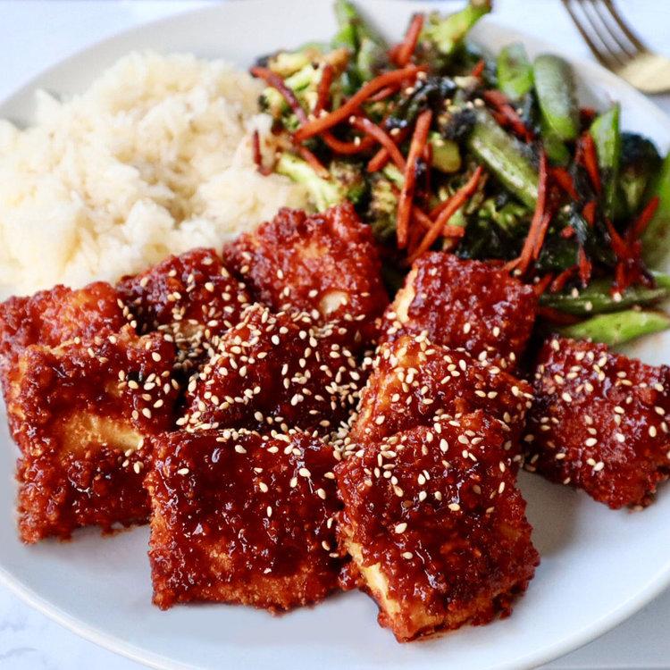 Fried tofu recipe
