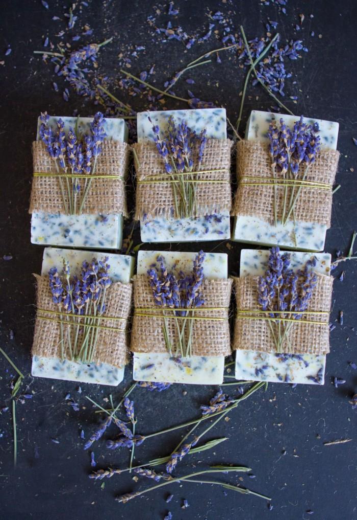 Lavender soap homemade recipe