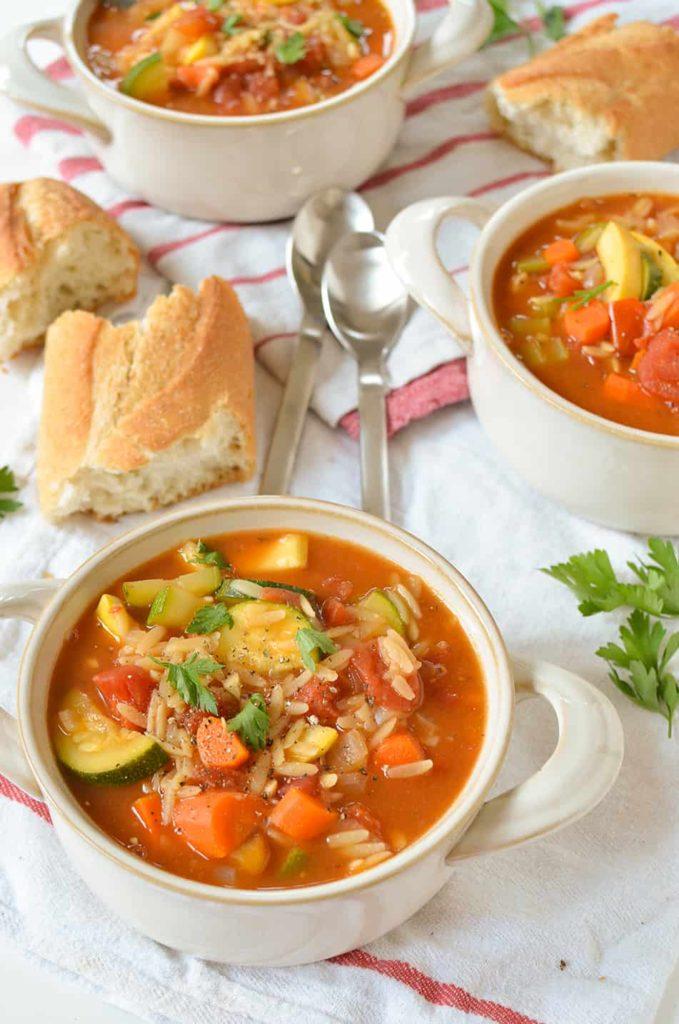 italian orzo soup freezer mea