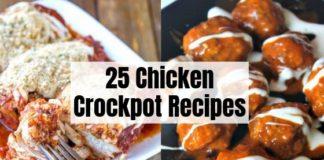 25 Chicken Crockpot Recipes