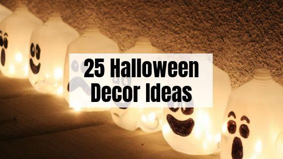25 Halloween Decor DIY