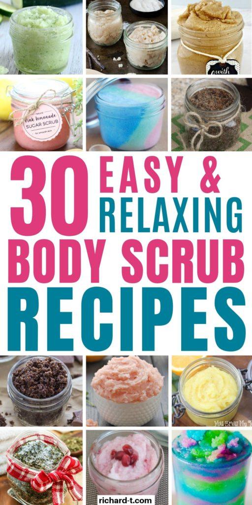 30+ DIY Body Scrub Recipes