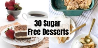 30 Sugar Free Dessert Recipes
