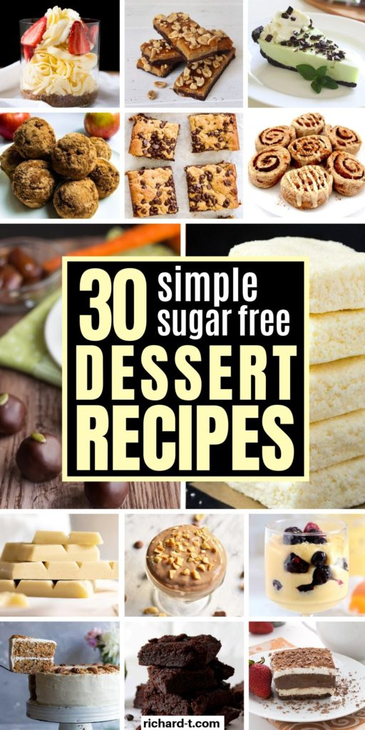 30 Sugar Free Desserts
