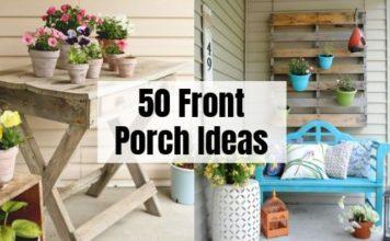 50 Best Front Porch DIY Ideas
