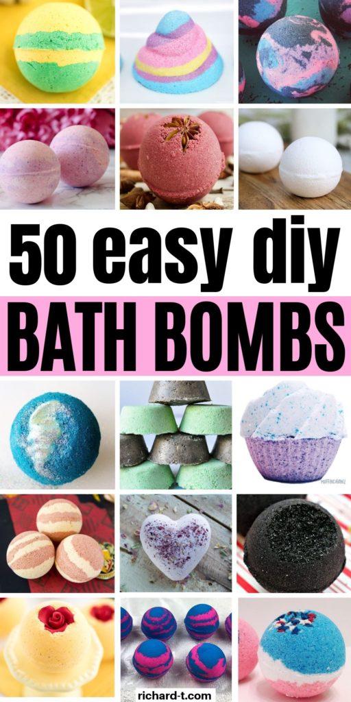 50 DIY Bath Bombs