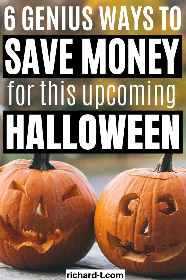 6 Genius Ways To Save Money Halloween