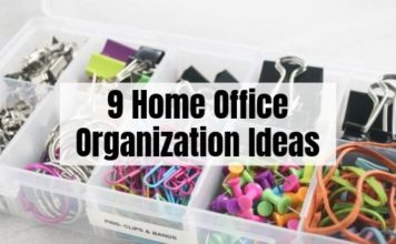 9 Home Office Organization Ideas