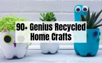 90 Recycled Crafts