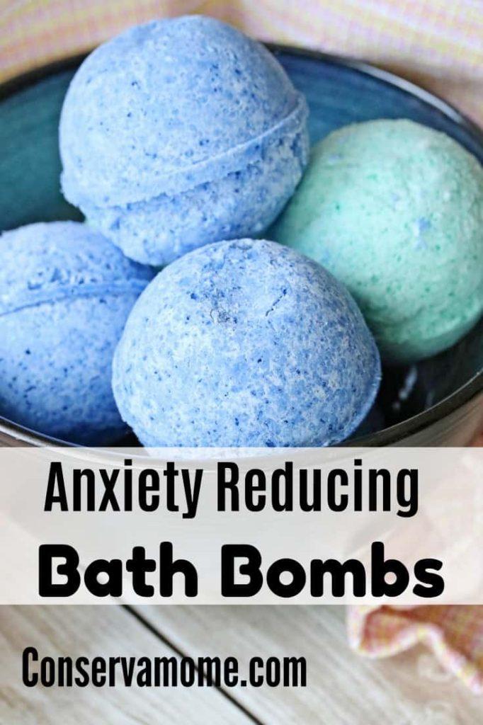 Anxiety Reducing Bath Bombs