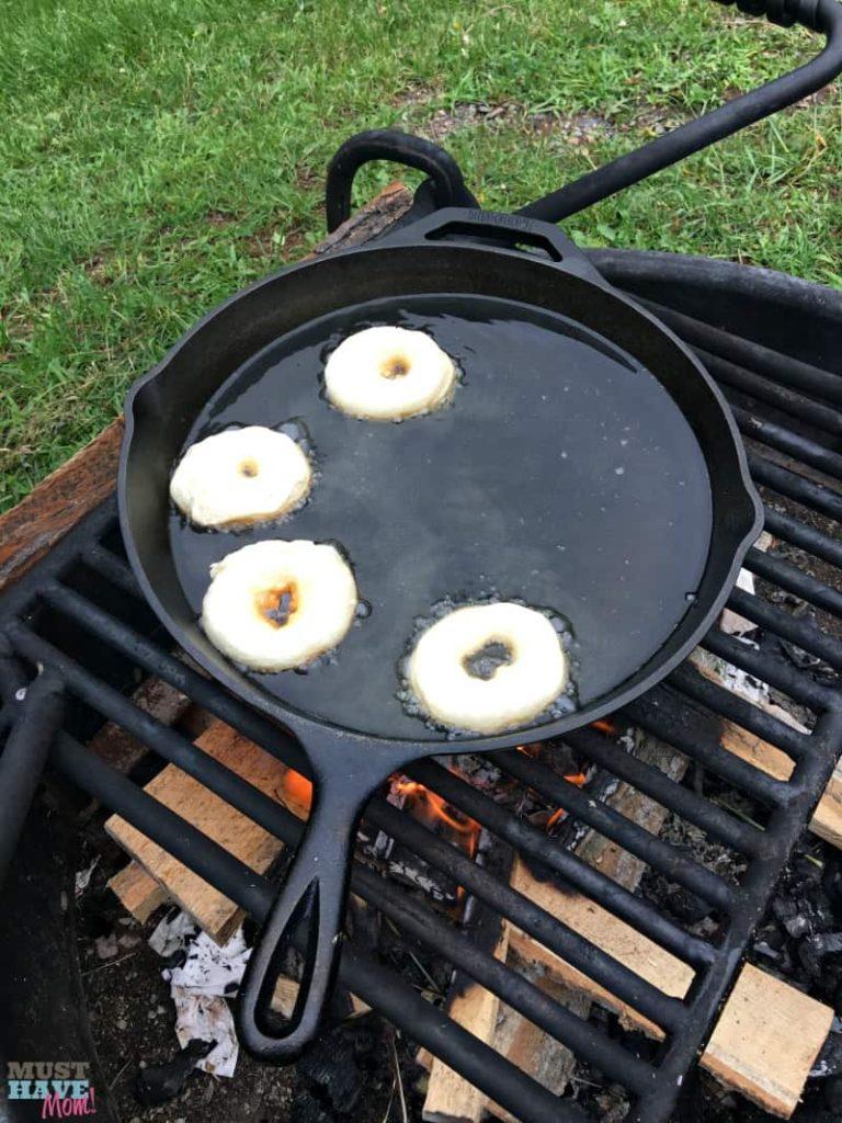 Campfire Donuts
