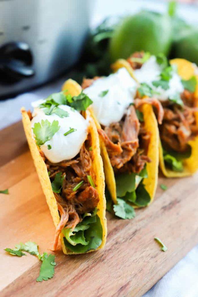 Cilantro Lime Pork Tacos