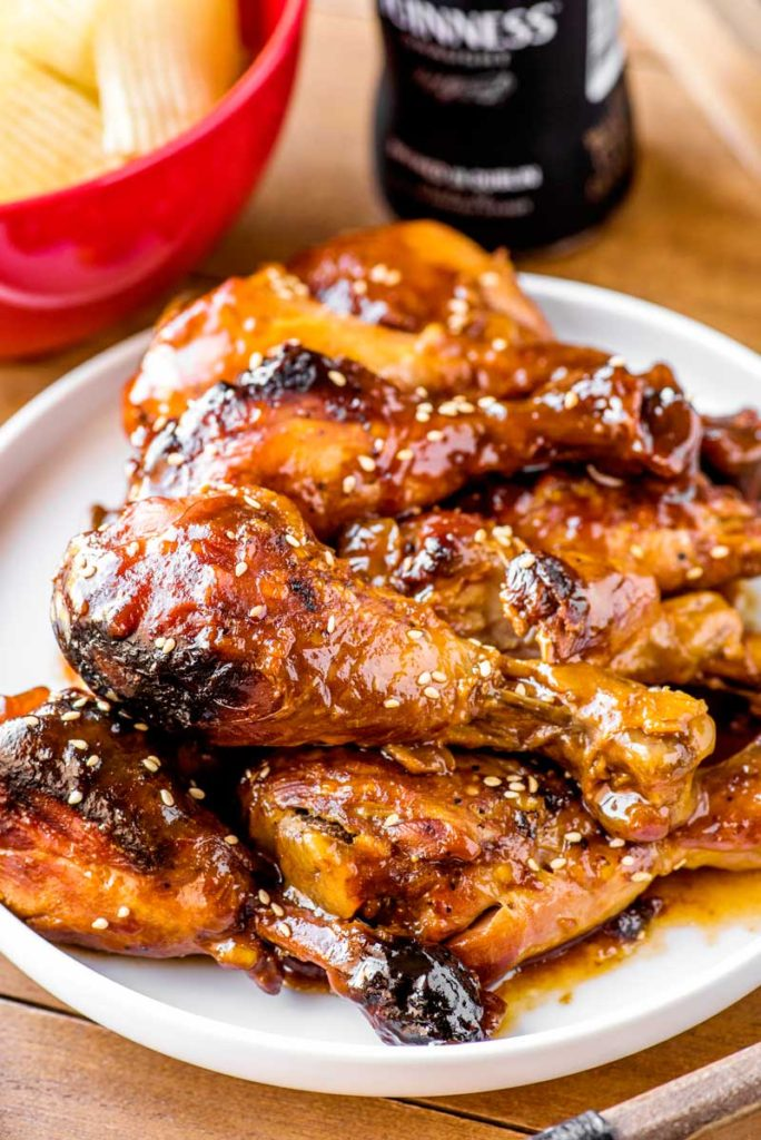Cranberry chicken drumsticks