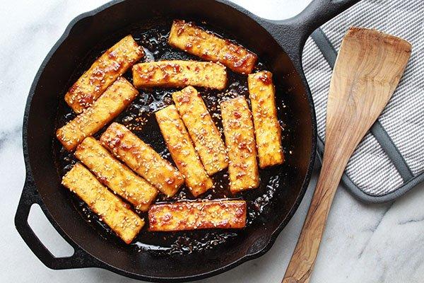 Crispy Tofu Vegetarian Recipe