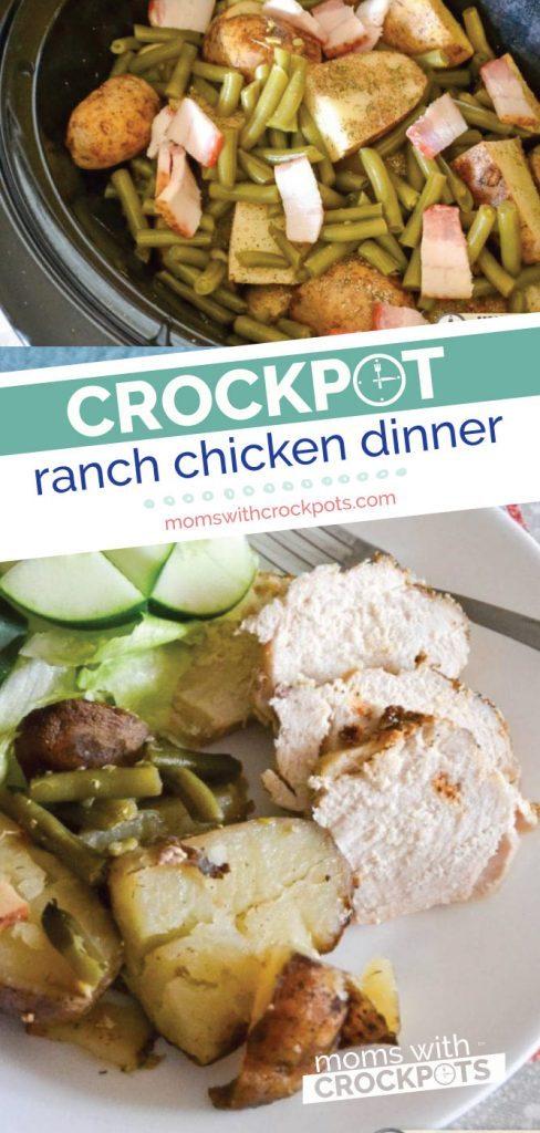 Crockpot Ranch Chicken Dinner