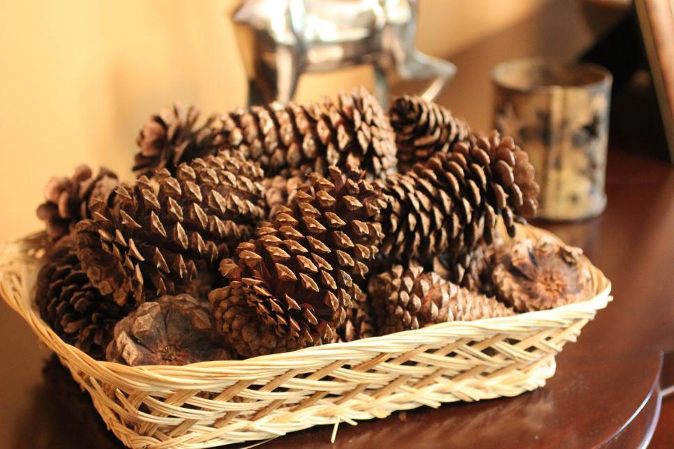 DIY Cinnamon-Scented Pine Cones