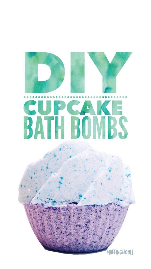 DIY Cupcakes Bath Bombs