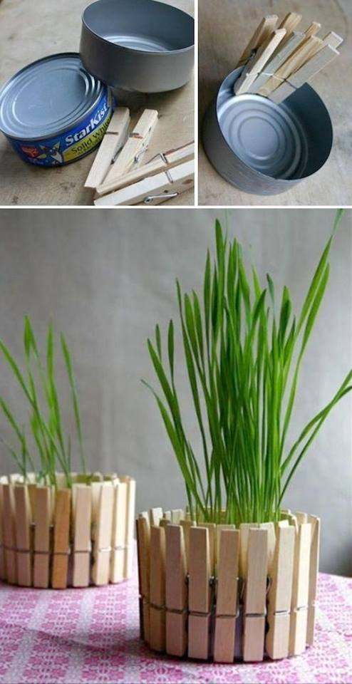 DIY Planter recycled projects