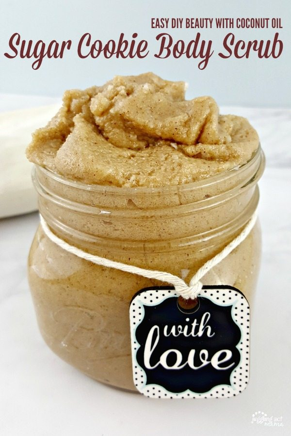 DIY Sugar Cookie Body Scrub