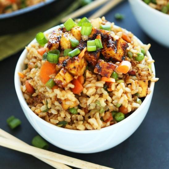 Easy Vegan Fried Rice