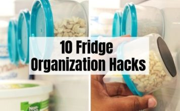 Fridge Organization Hacks