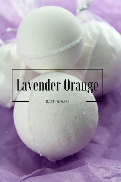 Lavender Orange Bath Bombs