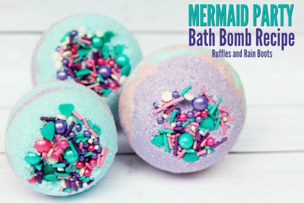 Mermaid Party Bath Bombs