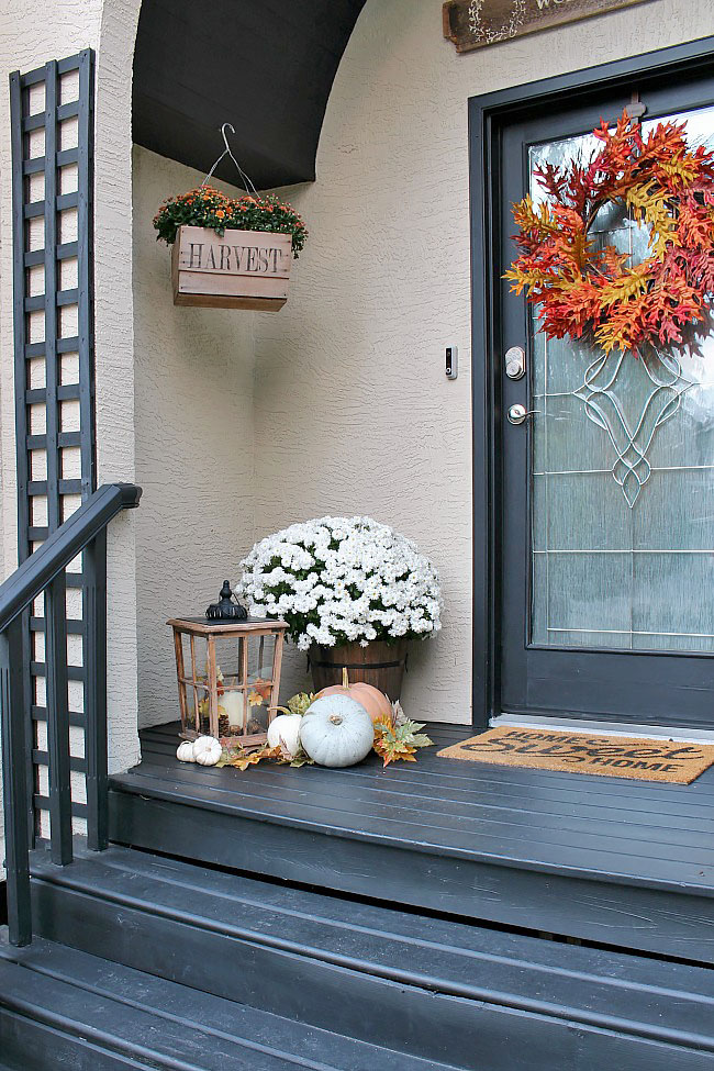 Perfect Fall Porch