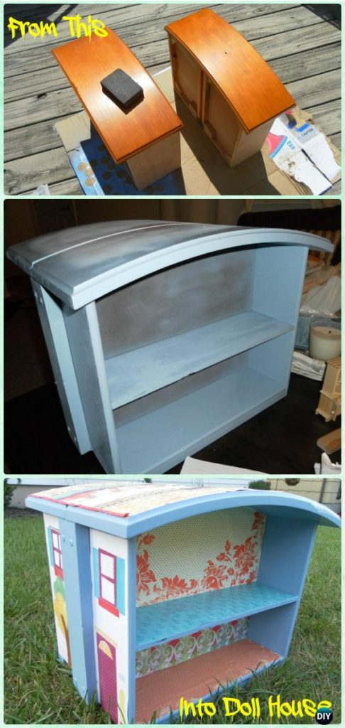 Recycle old drawers