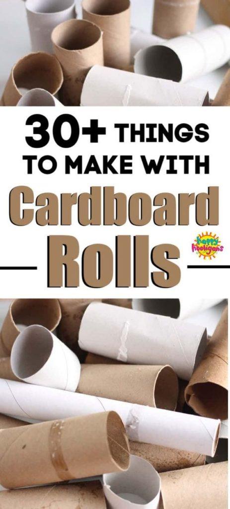 Recycle toilet rolls
