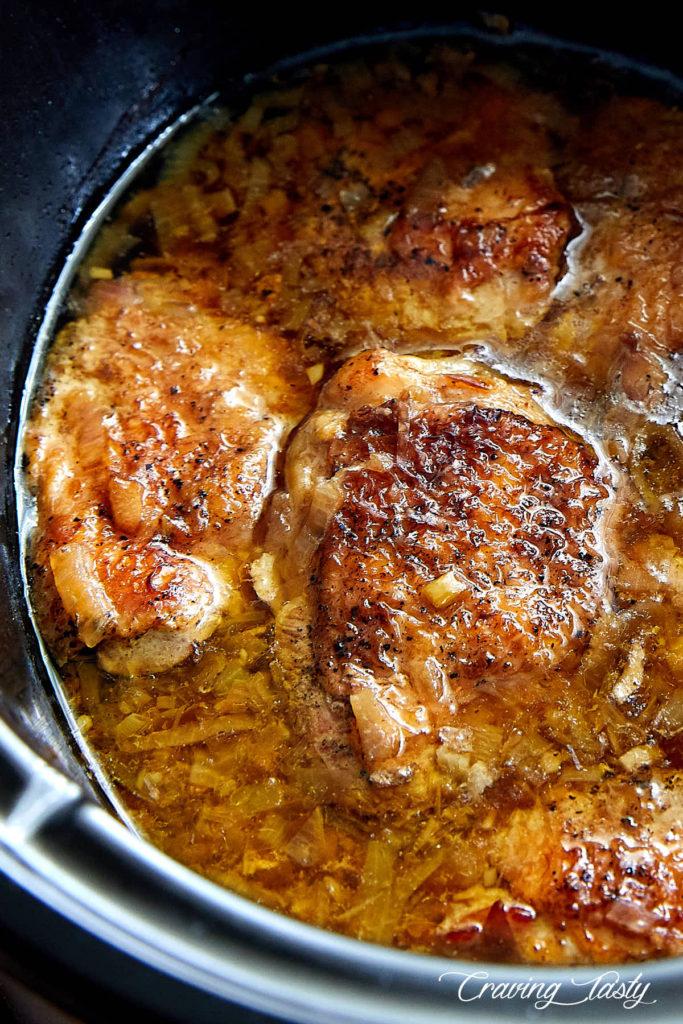 Rustic Slow Cooker Chicken