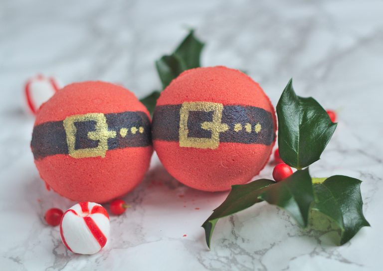 Santa Bath Bombs